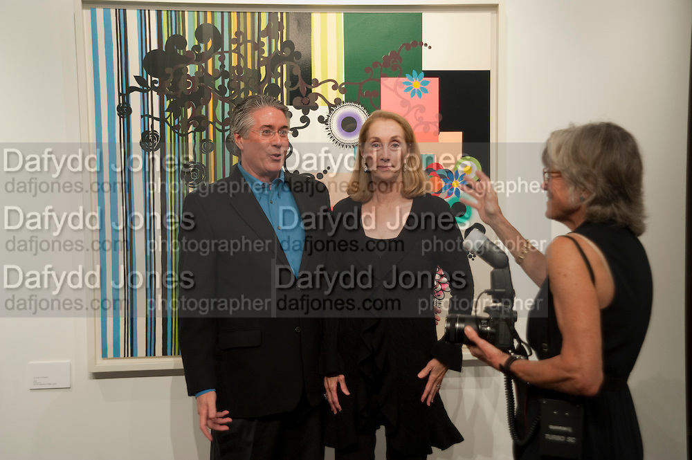 BETSY HANLEY; MIKE HANLEY; MARY HILLIARD, Galen and Hilary Weston host the opening of Beatriz Milhazes Screenprints. Curated by Iwona Blazwick. The Gallery, Windsor, Vero Beach, Florida. Miami Art Basel 2011