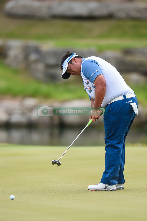 March 24, 2018 - Austin, TX, U.S. - AUSTIN, TX - MARCH 24: Kiradech Aphibarnrat puts during the quarterfinals of the WGC-Dell Technologies Match Play on March 24, 2018 at Austin Country Club in Austin, TX. (Photo by Daniel Dunn/Icon Sportswire) (Credit Image: © Daniel Dunn/Icon SMI via ZUMA Press)