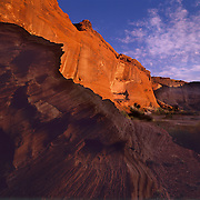 First Ruin in the diatance in Canyon de Chelly National Monument on the Navajo Reservation, Arizona. .