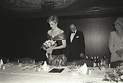 The Princess of Wales, Starlight Cabaret, Hilton. london. 30 October 1986.