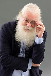 "Edinburgh, Scotland, UK; 15 August, 2018. Pictured; Irving Finkel. Finkel is an expert reader of cuneiform inscriptions on clay tablets and a British Museum scholar. His book, ""The Writing in the Stone"", is a work of bloodcurdling fiction set in Mesopotamia and inspired by a fractured piece of stone that resembles a cuneiform stone."