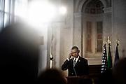 Il Presidente degli Stati Uniti d'America, Barack Obama, in visita ufficiale in Italia incontra il Presidente del Consiglio Matteo Renzi, Villa Madama, Roma, 27 Marzo, 2014.<br /> Christian Mantuano / OneShot