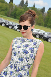 ANNA FRIEL at the St.Regis International Polo Cup between England and South America held at Cowdray Park, West Sussex on 18th May 2013.  South America won by 11 goals to 9 goals.