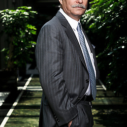 PARIS, FRANCE. MAY 4, 2011. Author Jeremy Rifkin, in Paris Hilton Hotel for the promotion of his new book. (photo Antoine Doyen)
