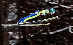 18.01.2018, Heini Klopfer Skiflugschanze, Oberstdorf, GER, FIS Skiflug Weltmeisterschaft, Qualifikation, im Bild Michael Hayboeck (AUT) // Michael Hayboeck of Austria during the Qualification of the FIS Ski Flying World Championships at the Heini-Klopfer Skiflying Hill in Oberstdorf, Germany on 2018/01/187. EXPA Pictures © 2018, PhotoCredit: EXPA/ JFK