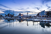 Evening Photo of Dana Point Harbor at the West Basin