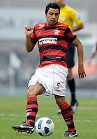 20111009: RJ, BRAZIL -  Football match between Flamengo and Fluminense at Engenhao stadium in Rio de Janeiro. In picture Maldonado<br /> PHOTO: CITYFILES