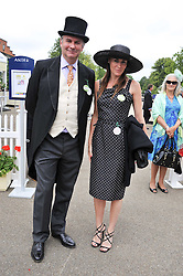 WILLIAM CASH and his sister LAETITIA CASH at day 2 of the 2011 Royal Ascot Racing festival at Ascot Racecourse, Ascot, Berkshire on 15th June 2011.