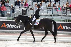 Anne Frederique Royon, (FRA), J Adore - Freestyle Grade Ib Para Dressage - Alltech FEI World Equestrian Games™ 2014 - Normandy, France.<br /> © Hippo Foto Team - Leanjo de Koster<br /> 25/06/14