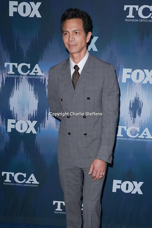 BENJAMIN BRATT at the Fox Winter TCA 2017 All-Star Party at the Langham Hotel in Pasadena, California