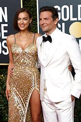 January 6, 2019 - Beverly Hills, Kalifornien, USA - Irina Shayk mit Lebenspartner Bradley Cooper bei der Verleihung der 76. Golden Globe Awards im Beverly Hilton Hotel. Beverly Hills, 06.01.2019 (Credit Image: © Future-Image via ZUMA Press)