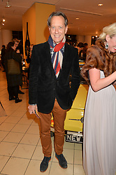 RICHARD E GRANT at a party to celebrate the launch of Conran Italia at The Conran Shop, Michelin House, 81 Fulham Road, London on 19th March 2015.