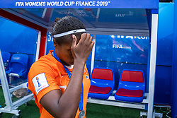 07-07-2019 FRA: Final USA - Netherlands, Lyon<br /> FIFA Women's World Cup France final match between United States of America and Netherlands at Parc Olympique Lyonnais. USA won 2-0 / Lineth Beerensteyn #21 of the Netherlands
