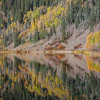 """""""Even if something is left undone....everyone must take time and sit still and watch the leaves turn."""" ~Elizabeth Lawrence<br /> <br /> Crystal Lake, San Juan Mountains, Colorado"""