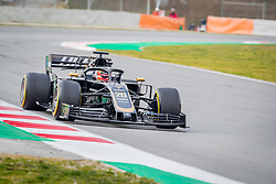 February 19, 2019 - Montmelo, Barcelona, Spain - Barcelona-Catalunya Circuit, Montmelo, Catalonia, Spain - 19/02/2018: Kevin Magnussen of Rich Energy Haas F1 Team during second journey of F1 Test Days in Montmelo circuit. (Credit Image: © Javier Martinez De La Puente/SOPA Images via ZUMA Wire)