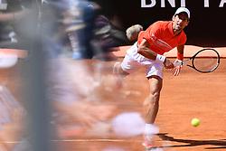 May 16, 2019 - Roma, Italia - Foto Alfredo Falcone - LaPresse.16/05/2019 Roma ( Italia).Sport Tennis.Internazionali BNL d'Italia 2019.Novak Djokovic (srb) vs Denis Shapovalov (can).Nella foto:Novak Djokovic..Photo Alfredo Falcone - LaPresse.16/05/2019 Roma (Italy).Sport Tennis.Internazionali BNL d'Italia 2019.Novak Djokovic (srb) vs Denis Shapovalov (can).In the pic:Novak Djokovic (Credit Image: © Alfredo Falcone/Lapresse via ZUMA Press)