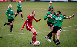 BIRKENHEAD, ENGLAND - Sunday, March 14, 2021: Liverpool's Kirsty Linnett during the FA Women's Championship game between Liverpool FC Women and Coventry United Ladies FC at Prenton Park. Liverpool won 5-0. (Pic by David Rawcliffe/Propaganda)