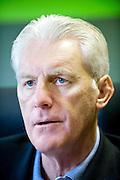 Belgium, Waregem, Mai 04, 2011, Hugo BROOS, trainer of soccerteam Zulte Waregem.©Christophe Vander Eecken