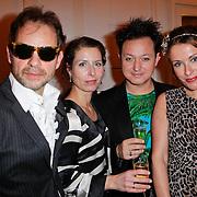 NLD/Amsterdam/20111124 - Beau Monde Awards 2011, Rop Verheijen en Annick Boer
