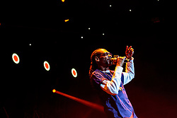 LOS ANGELES, CA - JAN 24: American rapper and actor Snoop Dogg performs onstage during Calibash 2016 held at Staples Center on January 24, 2016 in Los Angeles, California. CALIBASH 2016, hosted by KXOL Mega 96.3FM, La Musica and produced by AEG Live and Latin Events. Byline, credit, TV usage, web usage or linkback must read SILVEXPHOTO.COM. Failure to byline correctly will incur double the agreed fee. Tel: +1 714 504 6870.