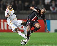 Fotball<br /> Frankrike<br /> Foto: DPPI/Digitalsport<br /> NORWAY ONLY<br /> <br /> FOOTBALL - UEFA CUP 2008/2009 - 1ST ROUND - 2ND LEG - 02/10/2008 - PARIS SG v KAYSERISPOR - FABRICE PANCRATE (PSG) / ALIOUM SAIDOU (KAY)
