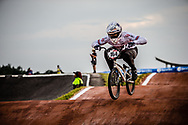 #164 (ISIDORE Quillan) GBR [Pure] at Round 7 of the 2019 UCI BMX Supercross World Cup in Rock Hill, USA