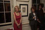 SALLY EMERSON; JULIA WATSON; LUCY TUCK , The launch of Fire Child by Sally Emerson. Hosted by Sally Emerson and Naim Attalah CBE. Dean St. London. 22 March 2017