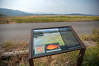 Dumping non-native, pet fish into Kelly Warm Springs has become such a problem that Grand Teton National Park has installed an informational kiosk warning of the environmental damage and legal ramifications of the practice.