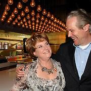 NLD/Amsterdam/20070315 - Lancering nieuw blad Catherine van Catherine Keyl, samen met partner Maurits Regenboog