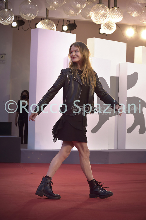 """VENICE, ITALY - SEPTEMBER 10:  Nailea Norvind walks the red carpet ahead of the movie """"Nuevo Orden"""" (New Order) at the 77th Venice Film Festival on September 10, 2020 in Venice, Italy.<br /> (Photo by Rocco Spaziani)"""
