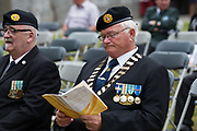 08/07/2018  repro  free: Ex-serviceman  Pat Nugent  ONE  at  The National Day of Commemoration Ceremony at NUI Galway in honour of all those Irishmen and Irish Women who served in past wars or on Service with the UN.Photo:Andrew Downes, XPOSURE