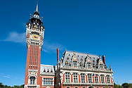 Belfry and Town Hall in Calais, Pas-de-Calais, France © Rudolf Abraham