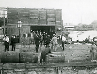 1923 Filming Down To The Sea In Ships in Bedford, Mass. by the Whaling Film Co.
