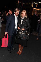 TIM & LADY HELEN TAYLOR at the Private View of the Pavilion of Art & Design London 2011 held in Berkeley Square, London on 10th October 2011.