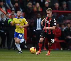 Bournemouth's Matt Ritchie - Photo mandatory by-line: Paul Knight/JMP - Mobile: 07966 386802 - 14/02/2015 - SPORT - Football - Bournemouth - Goldsands Stadium - AFC Bournemouth v Huddersfield Town - Sky Bet Championship