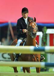 Coumans Gabriel<br />KWPN Paardendagen 2001<br />Photo © Dirk Caremans
