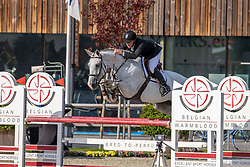 Tips Maxime, BEL, Ohlala van't Gelutt<br /> Belgian Championship 6 years old horses<br /> SenTower Park - Opglabbeek 2020<br /> © Hippo Foto - Dirk Caremans<br />  13/09/2020