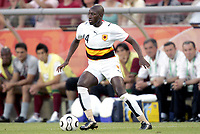 Fotball<br /> VM 2006<br /> Foto: Dppi/Digitalsport<br /> NORWAY ONLY<br /> <br /> FOOTBALL - WORLD CUP 2006 - STAGE 1 - GROUP D - ANGOLA v PORTUGAL - 11/06/2006 - MENDONCA (ANG)