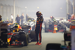 September 16, 2018 - Singapore, Singapore - Motorsports: FIA Formula One World Championship 2018, Grand Prix of Singapore, .#33 Max Verstappen (NLD, Aston Martin Red Bull Racing) (Credit Image: © Hoch Zwei via ZUMA Wire)