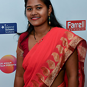 Belmaya Nepali is a Director, Educate Our Daughters attends the UK Asian Film Festival closing flame awards gala - Red Carpet at BAFTA 195 Piccadilly, on 7 April 2019, London, UK