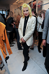 PAM HOGG at the Mother of Pearl Launch at The Other Criteria, 36 New Bond Street, London W1 on 12th April 2011.