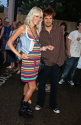 KIMBERLEY STEWART and her brother SEAN STEWART at the annual Serpentine Gallery Summer Party co-hosted by Jimmy Choo shoes held at the Serpentine Gallery, Kensington Gardens, London on 30th June 2005.<br /><br />NON EXCLUSIVE - WORLD RIGHTS