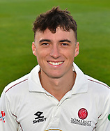 Head shot of Tom Banton of Somerset during the 2019 media day at Somerset County Cricket Club at the Cooper Associates County Ground, Taunton, United Kingdom on 2 April 2019.