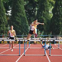 B Division Girls 400m Hurdles
