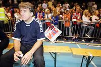 Håndball, 11. juni 2005, play off, Norge - Bosnia Hercegovina,  Kamenica Kasim, trener for Bosnia