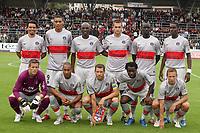 Fotball<br /> Frankrike<br /> Foto: Dppi/Digitalsport<br /> NORWAY ONLY<br /> <br /> FOOTBALL - FRIENDLY GAMES 2008/2009 - US BOULOGNE v PARIS SG - 15/07/2008 - TEAM PSG ( BACK ROW LEFT TO RIGHT : CEARA / GUILLAUME HOARAU / ZOUMANA CAMARA / GREGORY BOURILLON / MAMADOU SAKHO / GRANDDI NGOYI / FRONT ROW : MICKAEL LANDREAU / LORIS ARNAUD / SYLAVIN ARMAND / PEGUY LUYINDULA / CLEMENT CHANTOME )<br /> <br /> Lagbilde PSG / Paris