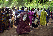 Crowd at an event - Podor Senegal