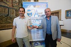 SIMONE COLOMBARINI E WALTER MATTIOLI<br /> PRESENTAZIONE CAMPAGNA ABBONAMENTI SPAL