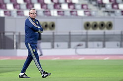 January 11, 2019 - Doha, QATAR - 190111 Sweden's head coach Janne Andersson during the international friendly football match between Sweden and Iceland on January 11, 2019 in Doha..Photo: Niklas Larsson / BILDBYRÃ…N / kod NL / 44174 (Credit Image: © Niklas Larsson/Bildbyran via ZUMA Press)