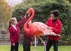 Zoo previews Chinese lantern display | Edinburgh | 26 October 2017.